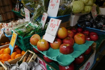 Fresh fruit at Green Freshes