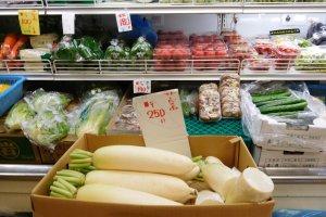 Sayur mayur di Green Fresh