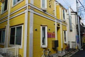 Arsitektur yang berbeda di Okinawa