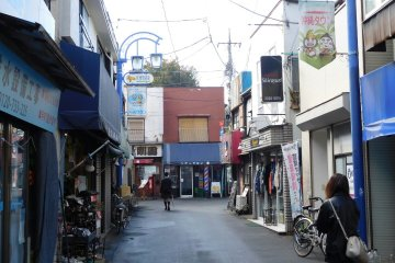 Relaxed streets of mini-Okinawa