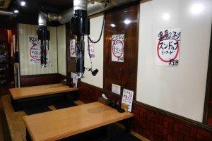 Izakaya tradisional di Okinawa Town