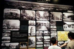 Những bức ảnh về thành phố Sendai trước và sau chiến tranh