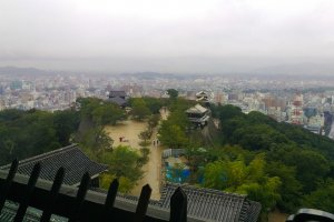 The tallest turret's vantage point