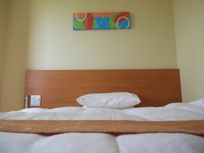 <p>เตียงของผม</p>