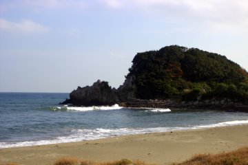 Any bit of coast in the Seto Inland Sea can catch you off guard with its island beauty