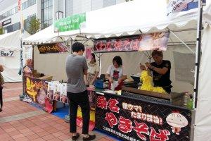 Yakisoba stall