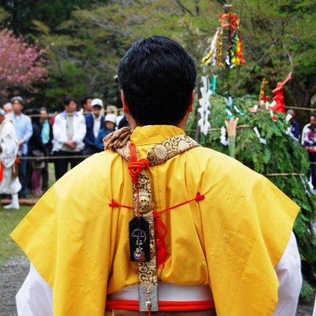 Saito Goma Fire Ceremony in Hongu