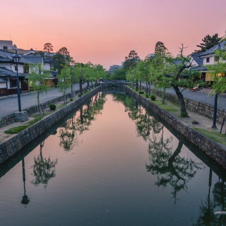 Góc phố lịch sử Kurashiki Bikan
