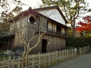 Chinryutei, a teahouse where secret discussions to end Japan's feudal period took place in 1868.