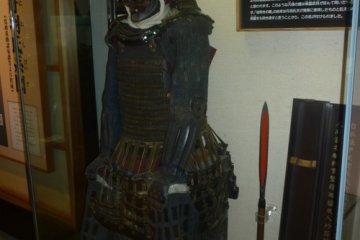 Доспехи лорда Нива в музее при замке