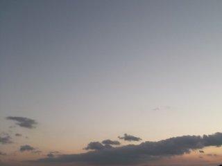 พระจันทร์ขึ้นเหนือท้องฟ้า