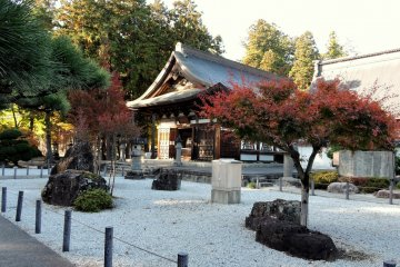 One of the halls at Erinji