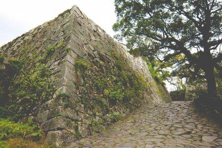 Руины замка Фукуоки