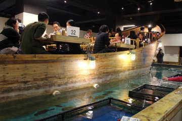 Le Restaurant Zauo à Tokyo