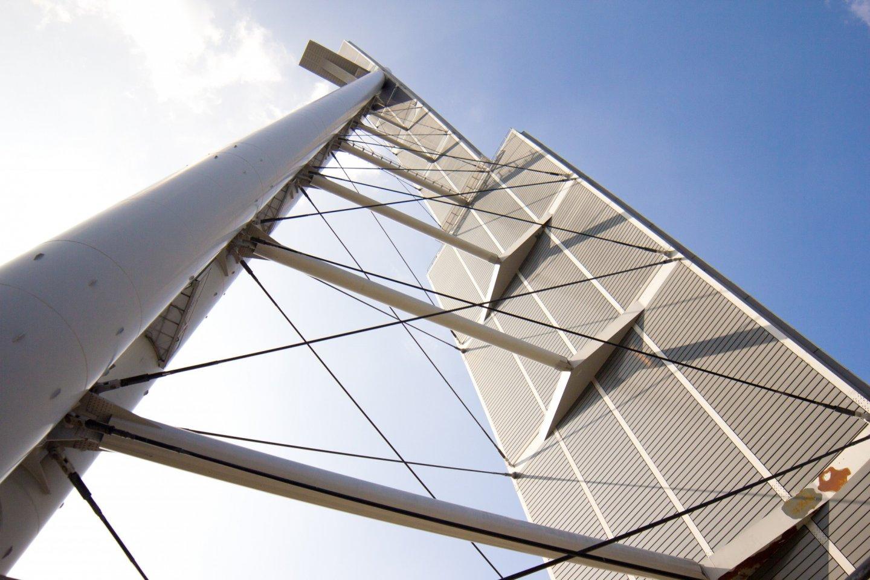 Global Tower yang modern