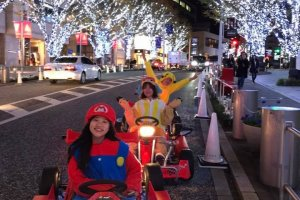 Mario Kart in Real Life