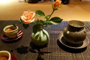 Welcome tea service