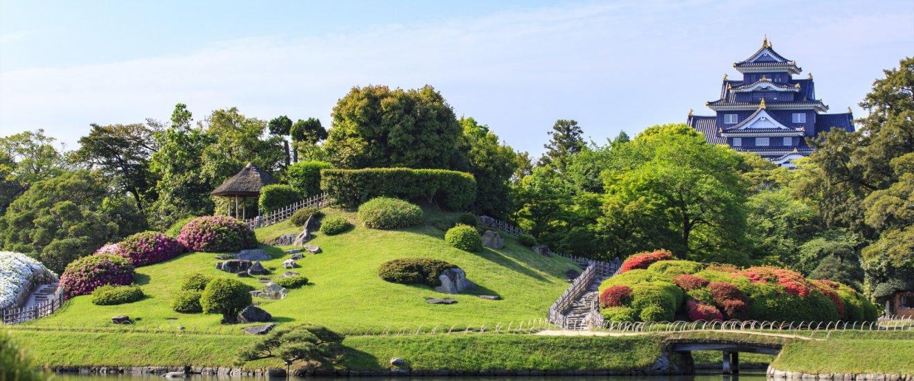 jardin korakuen d okayama japan travel