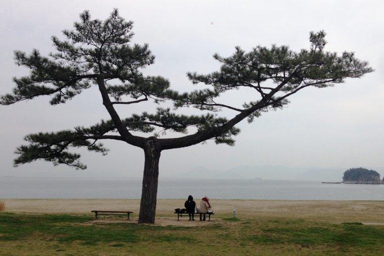 Sarapan di Naoshima
