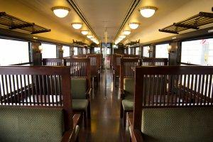 Gorgeous old-fashioned interior of Isaburo Shine