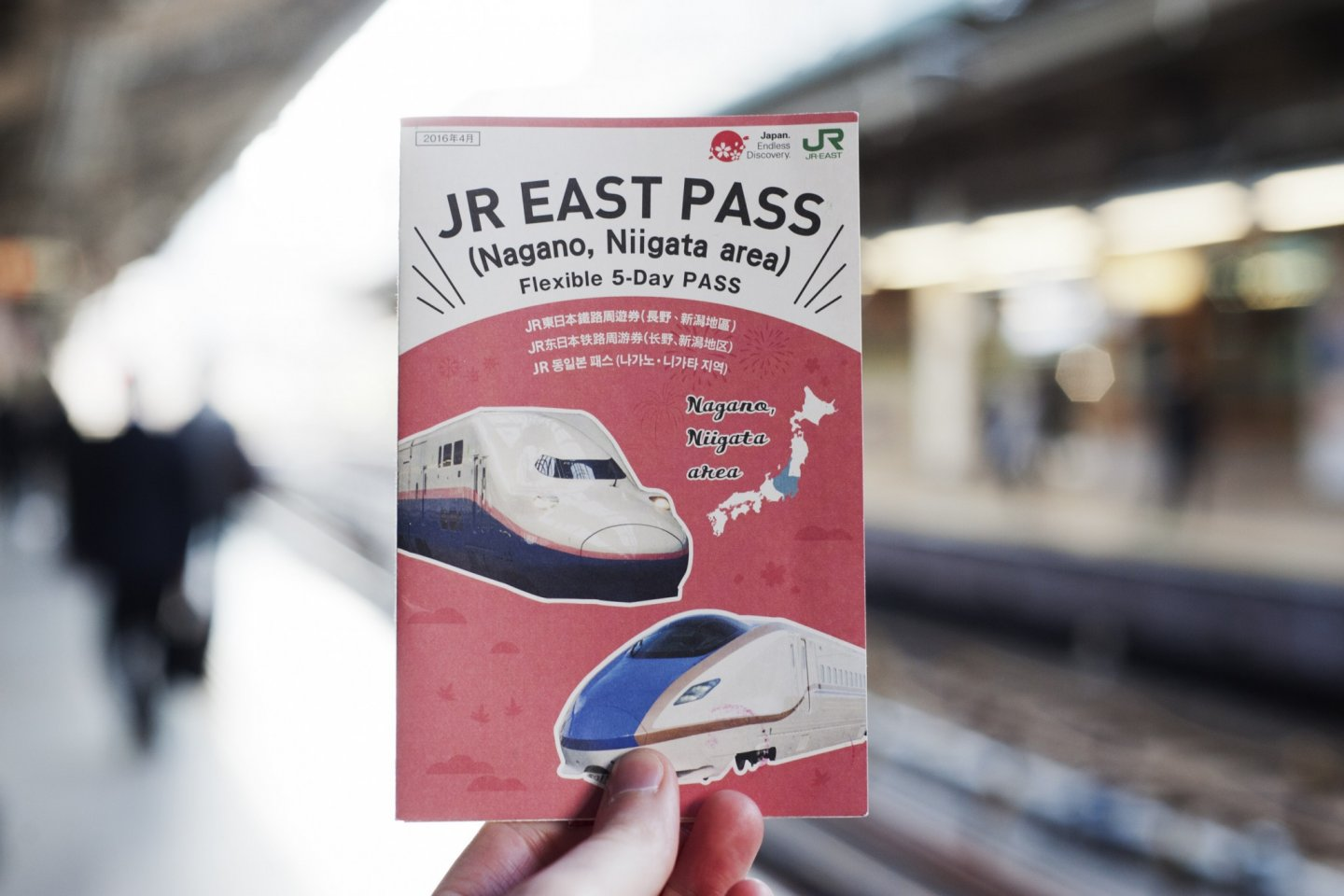 Ready to travel with the JR East Pass – Nagano, Niigata area