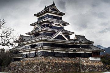 Matsumoto Castle , not far from Nagano