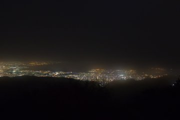 The famous night view