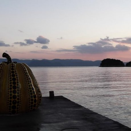 Outdoor Art on Naoshima