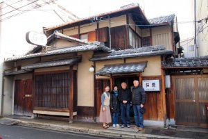Ishihara Ryokan with the Ishiharas