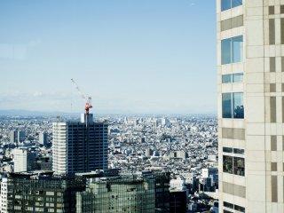 東京、ビルの海