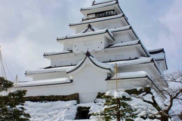 Winter Magic at Tsuruga-jo Castle