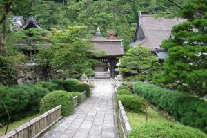 This little shrine near Okunoin has a small river running by