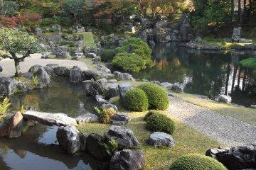 The garden at Sanboin