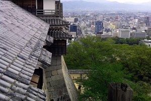 Phong cảnh thú vị nhìn ra Matsuyama
