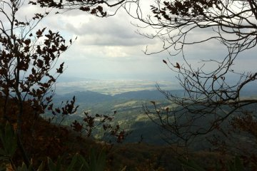 view to the Sea of Japan