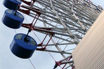 Kururin - the Ferris wheel on the roof