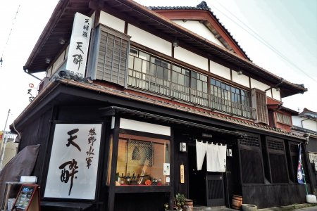 Restoran Tensui di Shingu, Wakayama