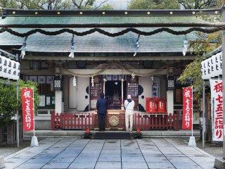 츠유노텐 신사는 1300년이 넘는 역사를 갖고 있다.