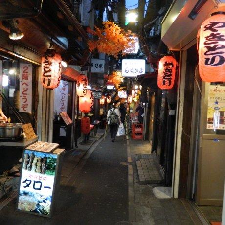 Những ngõ phố Nhà hàng ở Tokyo