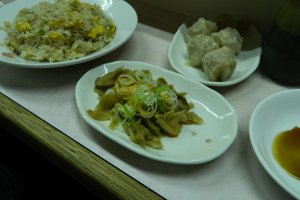 The stalls deal in comfort food such as fried rice and dumplings