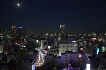 Shinjuku view at night