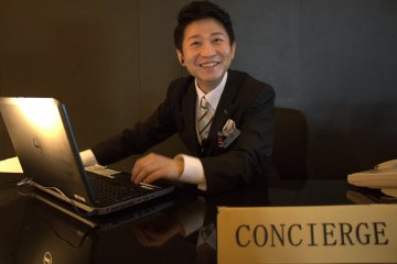 You are always welcome at the concierge