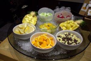 大量新鮮水果