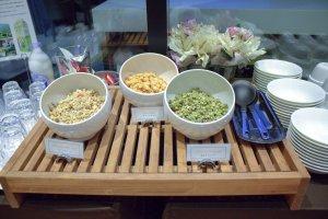 多種穀物和早餐麥片可供選擇