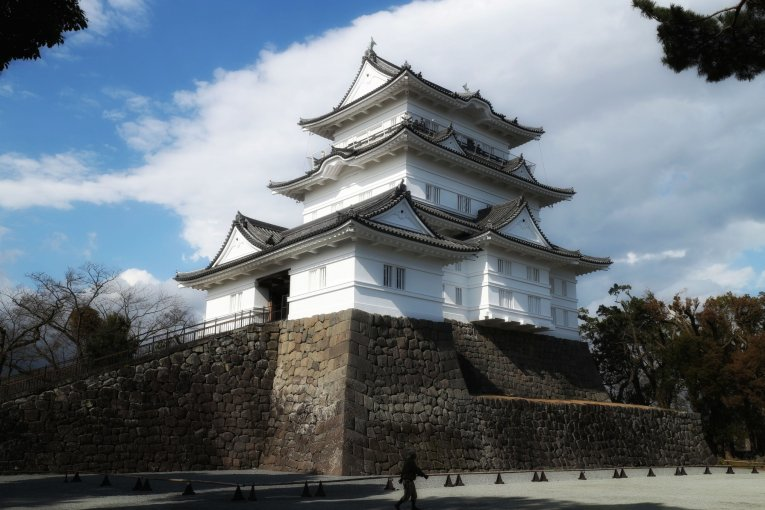 Odawara Castle and Samurai