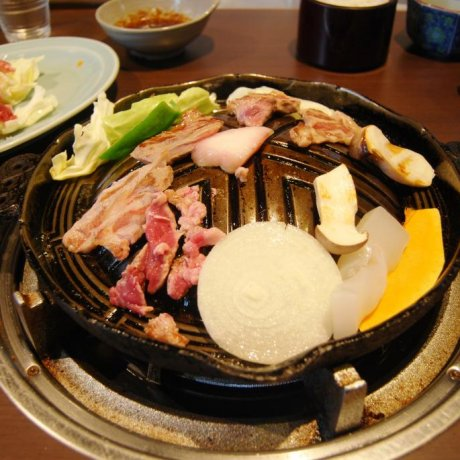 Robata Restaurant in Zao Onsen