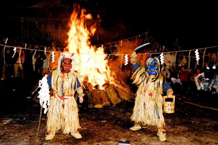 The Namahage Sedo Festival