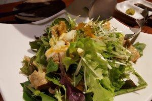 Salad kulit ayam