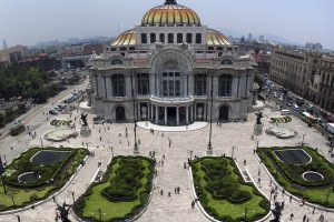 El Palacio de Bellas Artes in Mexico City