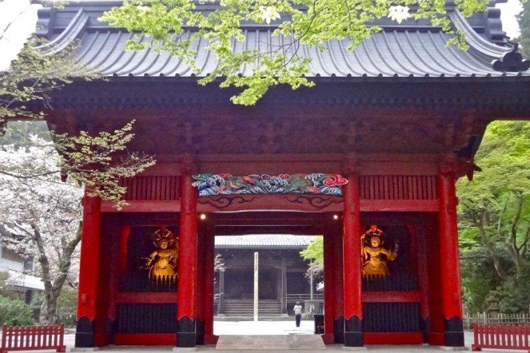 Đền Myohon-ji Kamakura vào mùa xuân